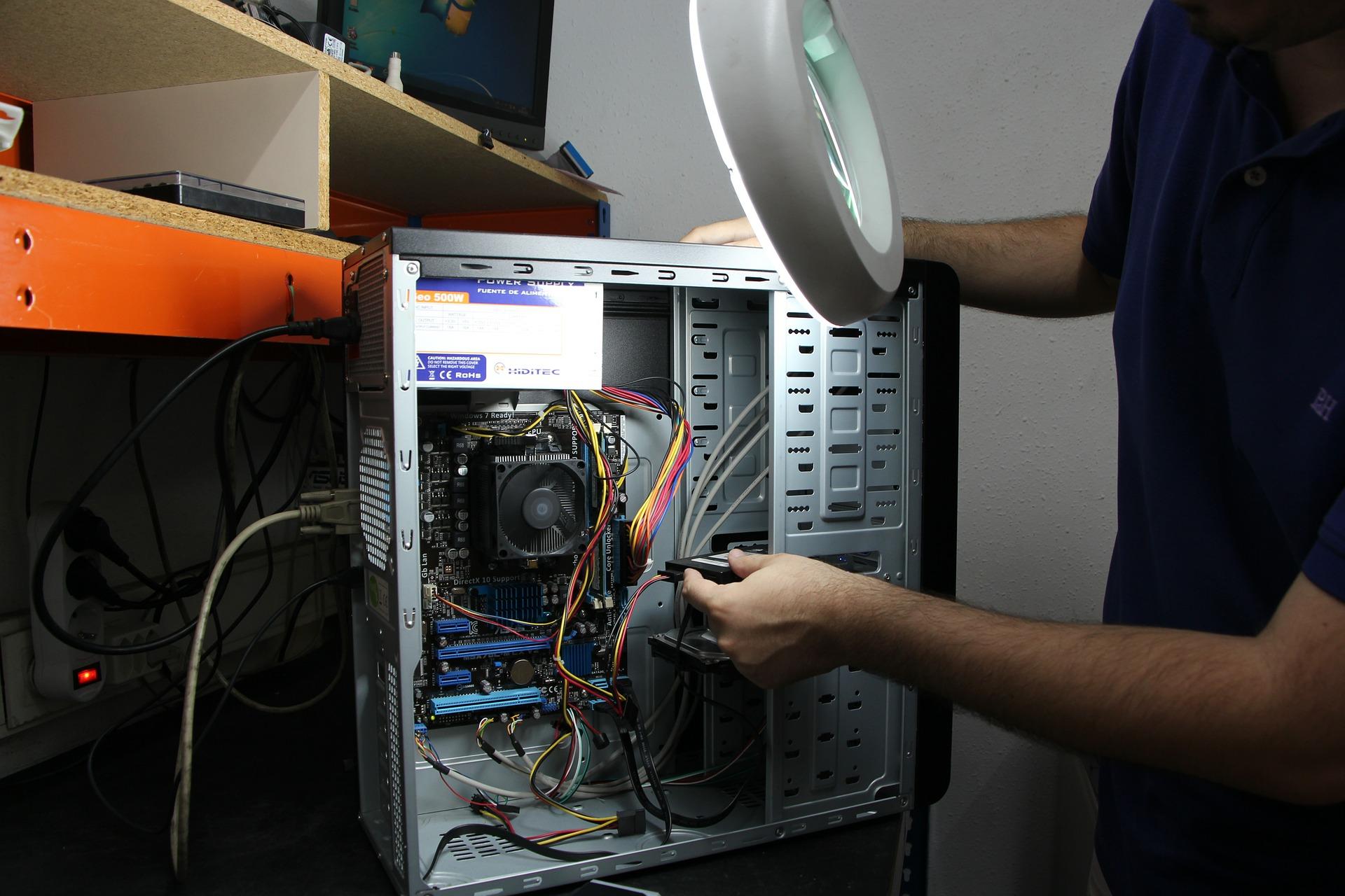 Computer Repair On Bench Narre Warren North