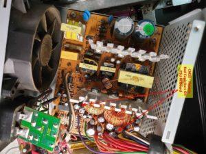 Computer Repairs Berwick - Bad Caps on PSU M/board