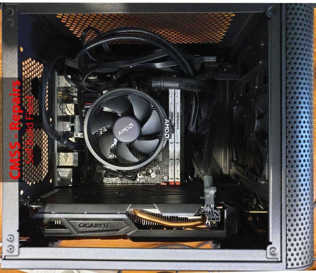 Computer Repairs - Coolermaster-Elite-110-Compact-Mini-ITX-Inside - Fixed