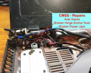Best Computer Repairs Narre Warren North - Aspire Broken Hinge